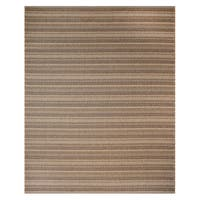 Studio by Brown Jordan Jennings Chestnut/ Black Polypropylene Area Rug (7'10x10')