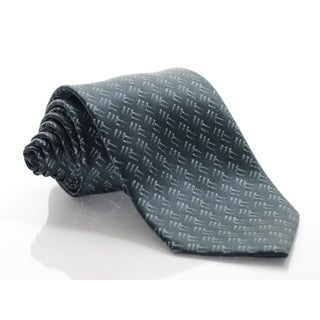 Brioni Silk Tribal Diagonal Tie
