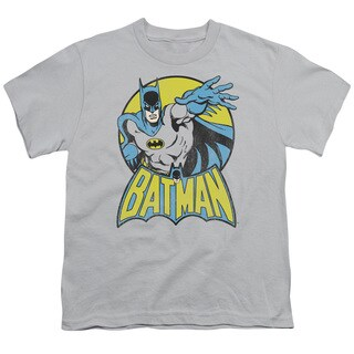 DC/Batman Short Sleeve Youth 18/1 in Silver