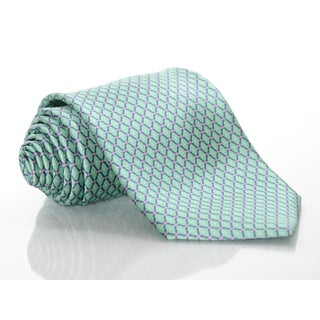 Brioni Silk Finnial Print Tie