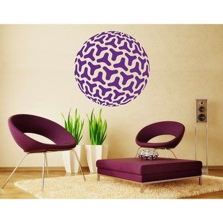 Style and Apply 'Retro Bowl Triangle' Vinyl Wall Decal