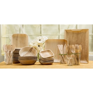 Bamboo Tableware Party Pack