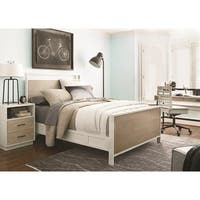 Contemporary Twin Panel Bed