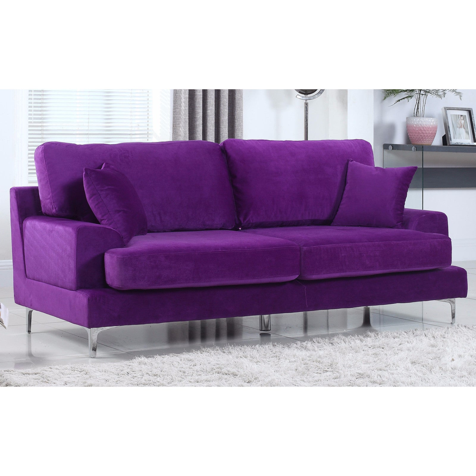 Purple Sofas Couches Online At Our Best Living Room Furniture Deals