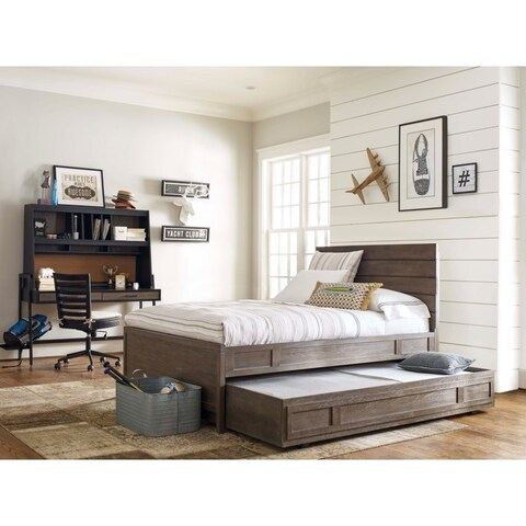 Wood Twin-size Trundle Bed