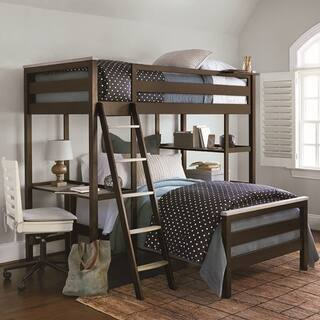 Brown Twin-size Bunk Bed|https://ak1.ostkcdn.com/images/products/12807148/P19576629.jpg?impolicy=medium