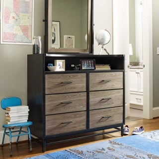 Universal Brown Wood Dressing Chest