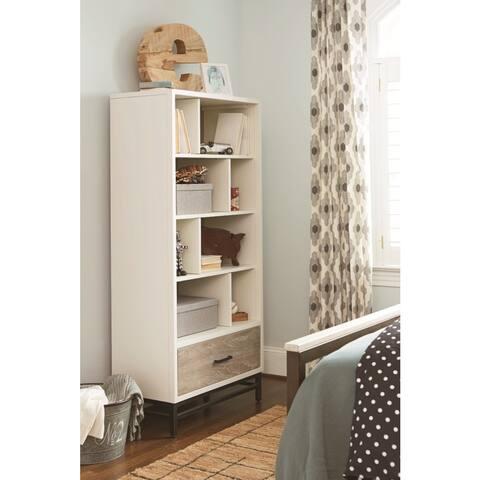 Universal Grey Wooden Bookcase