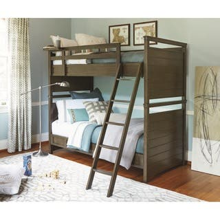 Varsity Brown Twin Bunk Bed|https://ak1.ostkcdn.com/images/products/12807171/P19576650.jpg?impolicy=medium