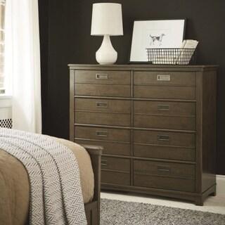 Universal Varsity Grey Wood 8-drawer Dresser