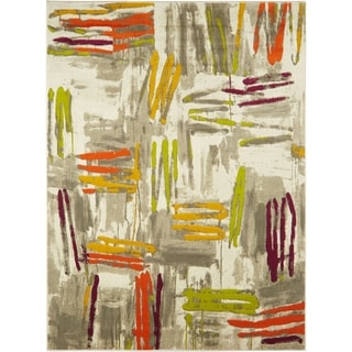 "Home Dynamix Tanja Collection Contemporary Multicolored Area Rug (3'11"" x 5'2"")"