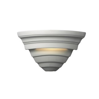 Justice Design Group Ambiance Bisque Supreme Corner Wall Sconce