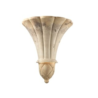 Justice Design Group Ambiance-Venezia Greco Travertine Wall Sconce