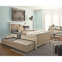 Brown Twin Trundle Bed