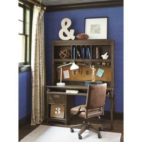 Universal Bronze Wooden Desk Hutch