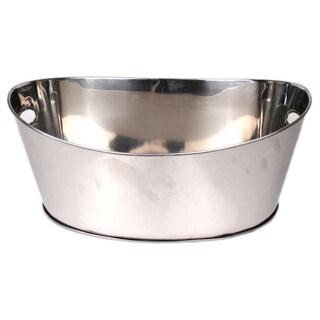 Silver Stainless Steel Beverage Ice Bucket