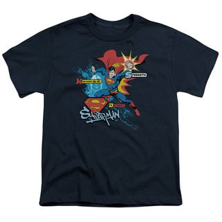 Superman/Abilities Short Sleeve Youth 18/1 in Navy