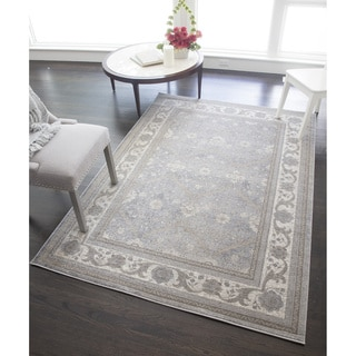 Woven Accents Hailey Collection Sidney Polypropylene Power-loomed Rug (5'3 x 7'6)