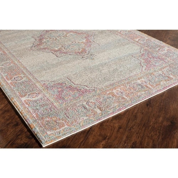 Shop Mason Multicolor Vintage Area Rug 5 3 X 7 6 On