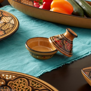 Mini Tagines (set of 4)  Honey Design, by Le Souk Ceramique