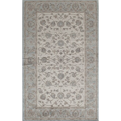 Riley Collection Harper Floral Area Rug - 5' x 8'