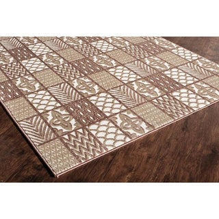 Riley Collection Logan Polypropylene Power-Loomed Rug (60 inches x 96 inches)