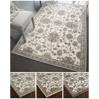 Woven Accents Riley Collection Louise Polypropylene Power-loomed Rug (5' x 8')