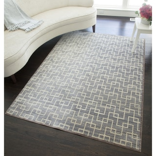 Westford Collection Power-loomed Polyester Rug (5' x 8')