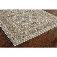 Riley Collection Regal Multicolored Area Rug - 5' x 8'