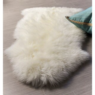Genuine Soft Australian Sheepskin Rug (2' x 3') - 2' x 3'