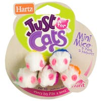 Hartz At Play Mini Mice Cat Toys