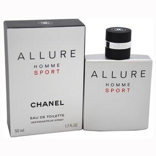 Chanel Allure Homme Sport Men's 1.7-ounce Eau de Toilette Spray