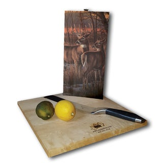 WGI Gallery Daybreak Wood Cutting Board
