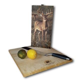 WGI Gallery First Light Buck Wood Cutting Board