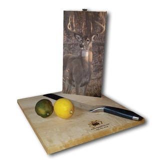 WGI Gallery Great Eight Wood Cutting Board