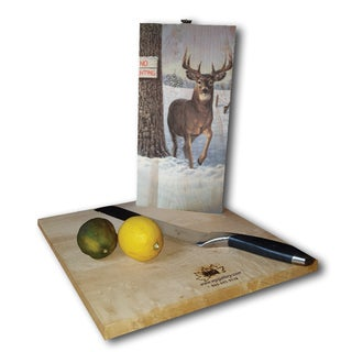 WGI Gallery No Hunting Wood Cutting Board (2 options available)