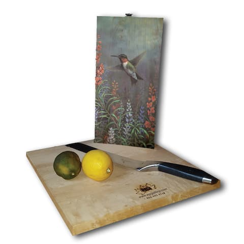 WGI Gallery Summer Hummer Wood Cutting Board