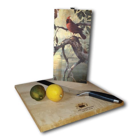 WGI Gallery Sunrise at Narrows Creek Wood Cutting Board