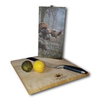 WGI Gallery Spring Strut Wood Cutting Board (2 options available)