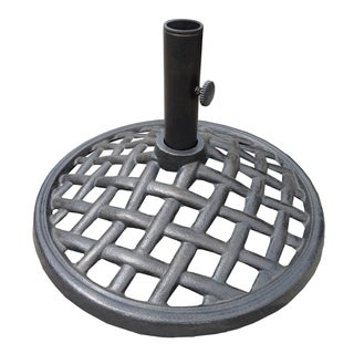 Bali Black Cast-metal 27-pound Umbrella Base
