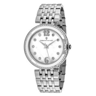 Christian Van Sant Women's CV1610 MOP Watch