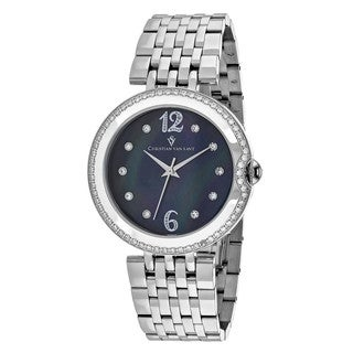 Christian Van Sant Women's CV1611 MOP Watch