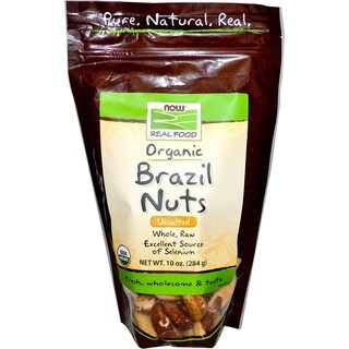 Now Foods 10-ounce Organic Brazil Nuts