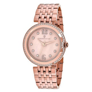 Christian Van Sant Women's CV1614 MOP Watch