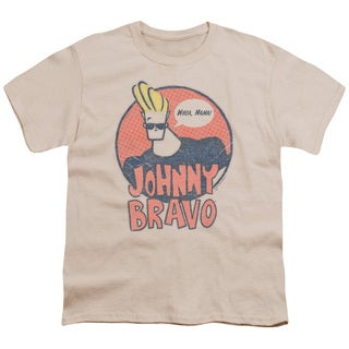 Johnny Bravo/Wants Me Short Sleeve Youth 18/1 in Cream