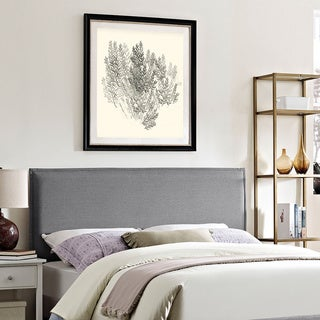Modway Camille Light Grey Fabric Headboard