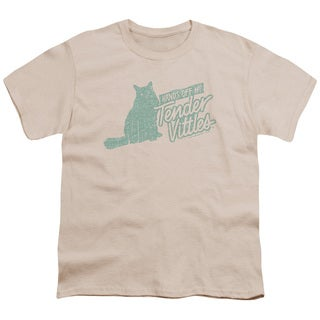Tender Vittles/Hands Off Short Sleeve Youth 18/1 in Cream