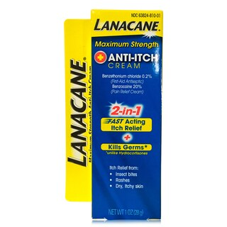 Lanacane 1-ounce Maximum Strength Pain and Intense Itch Cream