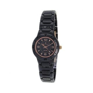 Christian Van Sant Women's CV0210 Ceramic Black Watch