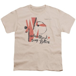 Thelonious Monk/Monk Sonny Rollins Short Sleeve Youth 18/1 Cream